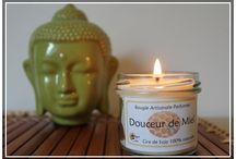 Bougie parfumée / Mes #bougies parfumées