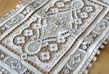 cut work embroidery / by Jone