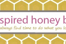 Inspired Honey Bee / to grow IHB blog with best practices, inspiration boards, tutorials, etc.