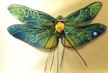 Wings made #bygloricomwings / A collection gallery of some of the Ooak handmade fairy art wings crafted by Gloriann Irizarry