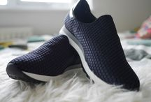 Banish the Blues / Blogger style, casual shoes for off-duty. See the full range http://www.modainpelle.com/shoes/casual-shoes-and-trainers