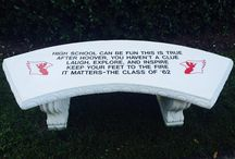 Engraved Benches / Take your fundraiser to the next level an engraved bench!
