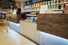 Reception Counters / Make the right first impression with stunning reception counters supplied and fitted by us! The ranges on offer are diverse enough to ensure no matter your gym's interior style, we are able to compliment it perfectly and wow visitors!