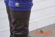 Bootcuffs-Crochet