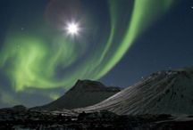 Northern Lights and the Full Moon / We're often asked if it's possible to view the Northern Lights/Aurora Borealis whilst there is a full moon. The answer is YES, it is possible. In fact the moonlight adds a spectacular light and background to Northern Lights photography. Here are some examples to prove it!