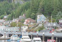 Alaska cruise and stops
