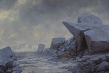 Environments: Concept Art / environment concept art for games and film