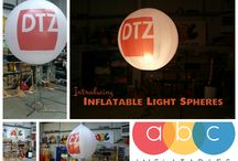L i g h t U p S p h e r e s / Fantastic light up balloons perfect for any out door event