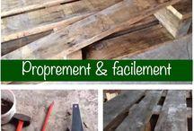 Techniques pour travailler le bois / techniques pour travailler le bois ou utiliser ses outils dans l'atelier