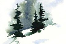 Watercolour: Scenery