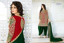 2368 Zikkra 4 Wedding wear Hand work Suits