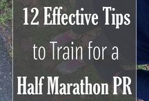 Running / Marathon training