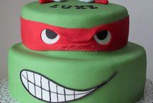 Turtles tmnt  cakes, cookies and cupcakes