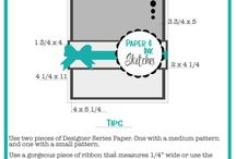 Paper & Ink Sketches / Card sketches to help you make simple, cute cards. Use these card sketch ideas to get you inspired. Cards and cardmaking ideas featuring Stampin' Up products.