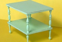 tutorials: furniture / Miniature furniture tutorials.
