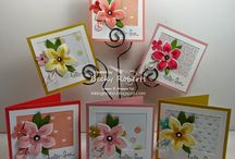 2015 Stampin up 3x3 cards