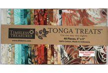 Timeless Treasures Tonga Treat Batik Precuts / by Hancock's of Paducah