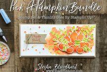 Herbst & Osterkarten/Autumn, Easter Cards