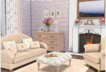 Sims4 cc living room