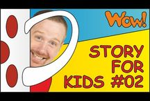 Video stories for Kids / We started making video songs and stories to help children all over the world make a positive start communicating in English. Our dream is to bring fun and educational English language tuition to kids from all continents. Our YouTube channel WOW ENGLISH TV currently gets more than 300,000 views every day from 200+ countries.