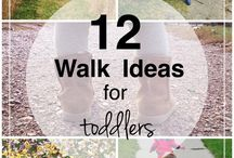 Outdoor activities for toddlers.