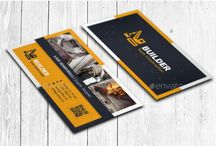 25+ Construction Business Card Template PSD and InDesign Format