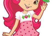 Strawberry Shortcake Bday Tema