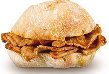 Bifanas sandwiche