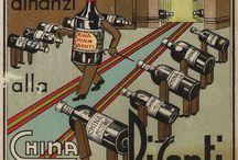 Pubblicità storiche / Le immagini delle pubblicità storiche che hanno reso celebre la China Pisanti.