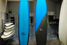 MASON DYER surfboards / Première série de longboards Mason DYER shapé et glassé à l'atelier UWL WORKSHOP (Angoulins,17, France) / by UWL WORKSHOP