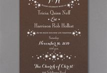 Mochas / Feel the warmth and love in these delicious mocha invitation designs available from Persnickety Invitation Studio.