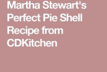 Martha Stewarts perfect pie shell