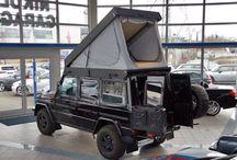 Mercedes G Wagon Camper