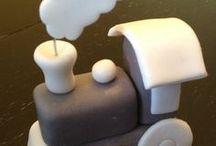 Фигурки на торт марципан