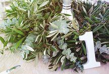 Green Wedding Centerpieces by My Wedding Flowers Portugal / Green Wedding Centerpieces by My Wedding Flowers Portugal