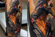 evangelion tattoo
