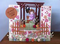 # 35 Pergola card / Template # 35 Pergola card available at www.sandrasscrapshop.blogspot.com