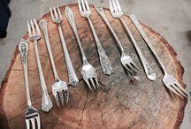 Vintage silverware / Vintage Sterling silverware