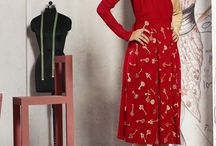 Fashion for valentine Red Kurtis Collection / Valentine offer 35% discount Red Kurtis Collection Only on http://www.fashionfiza.com