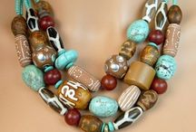 Afrikanska pärlor / Halsband
