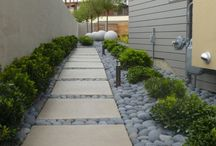 Hardscaping / Not a fan of the regular up keep of landscaping? Hardscape some of your backyard and patio area for low maintenance and a beautiful appeal.