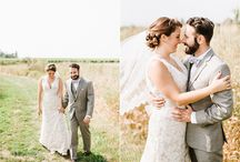 Real Weddings - Brenna & Justin 9.10.16 - Annmarie Swift Photography / Wedding inspiration from our 9.10.16 wedding , photographed by Annmaire Swift Photography - congrats Brenna and Justin!