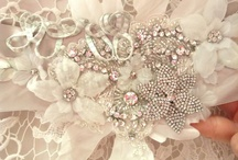 Bridal Beginning Belts & accessories  / Bridal Beginning has a wonderful collection of  accessories for the bride, from handbeaded crystal belts and hair pins, to stunning cathedral Lace-edged veils.  Our custom designed jewelry is made to compliment our wedding gowns!  / by BRIDAL BEGINNING