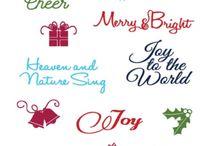 Joy Clair - Merry Christmas Sentiments