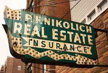 Vintage Business Signs