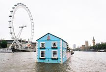 London's Floating House / The London's floating home is a perfect escape from the norm. What do you think?  Are you going to give it a try? Now if you would like something a little more traditional and very lovely…why not take a look at our gorgeous apartments as well? Wherever you decide to stay…..London is looking forward to welcoming you.