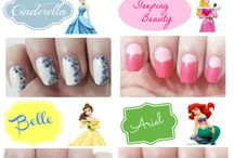 Nails/Hairstyles/Makeup