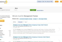 Management Trainee jobs / Jobs Management Trainee vacancies in Careesma. 993 job offers in Careesma for Management Trainee. You can see all the jobs for Management Trainee, Page 1 out of ... / by Careesma.in India