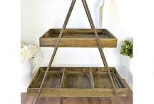 Racks / Keep small items - makeup, jewellery, stationery etc within easy reach with a stylish rack!