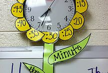 Kindergarten - telling time / by Paula Miller